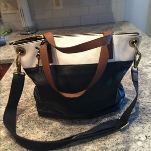 Beautiful Fossil Bag - Tote crossbody leather